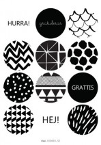 Stickers Black/White