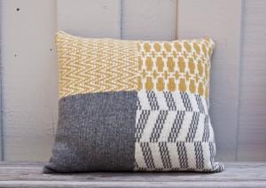 Pillow Case Banjara Grey/Yellow